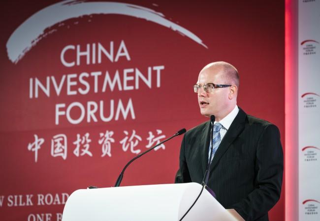 Předseda vlády ČR: Vztahy s Čínou jsou nejlepší v historii