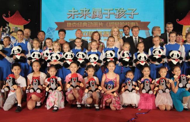 小鼹鼠重返中国中央电视台屏幕
