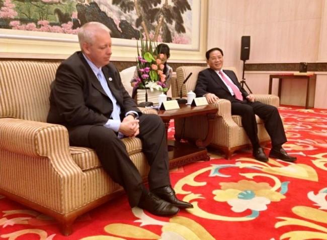 州长中国之行为比尔森州开启双边合作之门