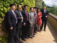 Zástupci největší čínské televize CCTV v Praze a na festivalu ve Zlíně