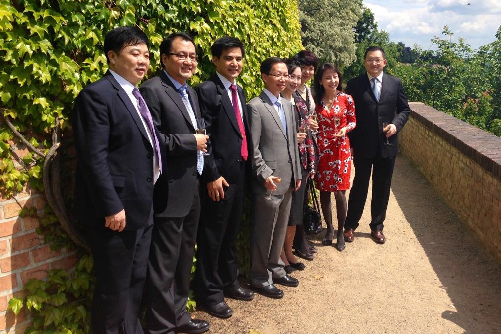 中国最大电视台 中央电视台代表访问布拉格,参加兹林电影节