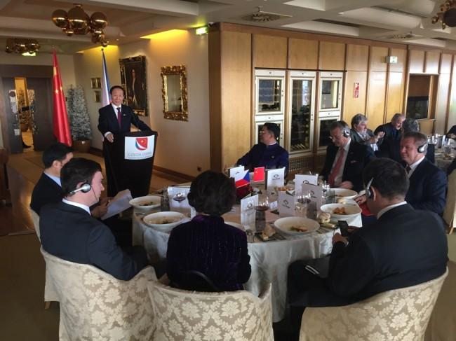 中联部代表团来访证实中捷关系发展良好势头