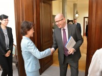 Premiér Sobotka: Přímé letecké spojení mezi Českou republikou a Čínou by mohlo odstartovat již letos v říjnu