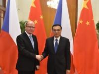 Během návštěvy premiéra Bohuslava Sobotky v Číně bylo podepsáno 31 dohod