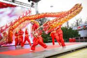 Oslava čínského nového roku ohnivého kohouta v Praze